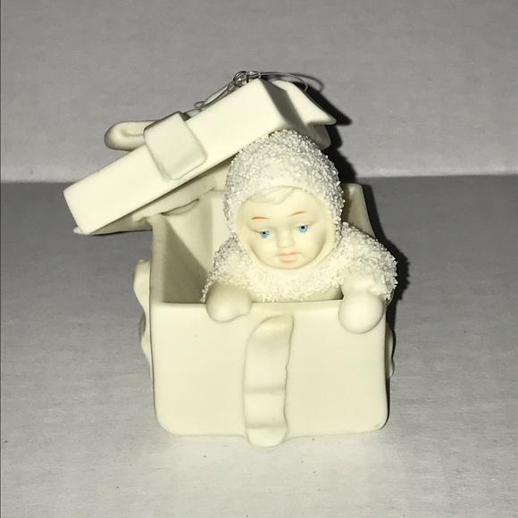 Department 56 Snowbaby Present Surprise Ornament